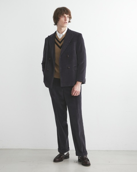 【×J.PRESS】STRAIGHT TROUSER WITH BELT