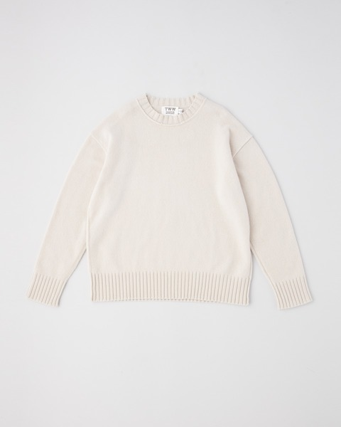 7G PLAIN STITCH CREW NECK PULLOVER