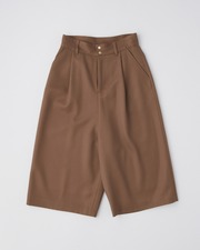 CULOTTE PANTS with FLAP POCKET 詳細画像 ルバーブラウン 11