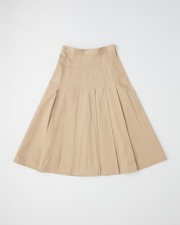 【UNION WEAR】FRONT POCKET PLEATS SKIRT 詳細画像 ブラウンベージュ 11