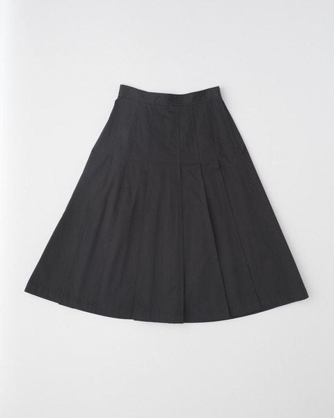 【UNION WEAR】FRONT POCKET PLEATS SKIRT