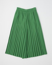 【HIGH STREET COLLECTION】PLEATS CULOTTE PANTS 詳細画像 グリーン 11