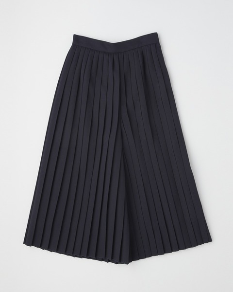 【HIGH STREET COLLECTION】PLEATS CULOTTE PANTS