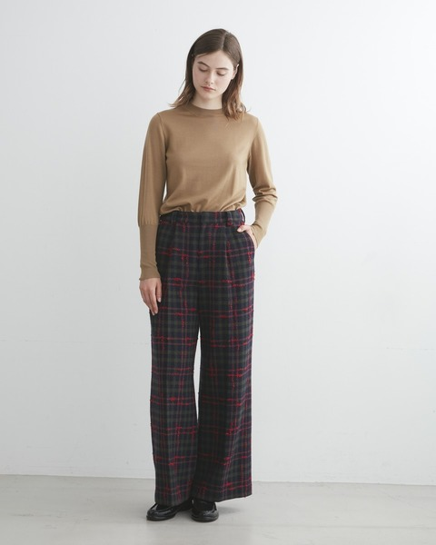 【HIGH STREET COLLECTION】TUCK WIDE PANTS