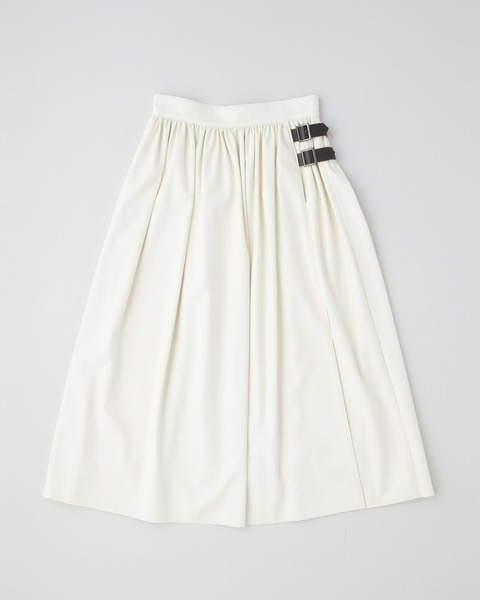 【HIGH STREET COLLECTION】GATHER SKIRT WITH BELT