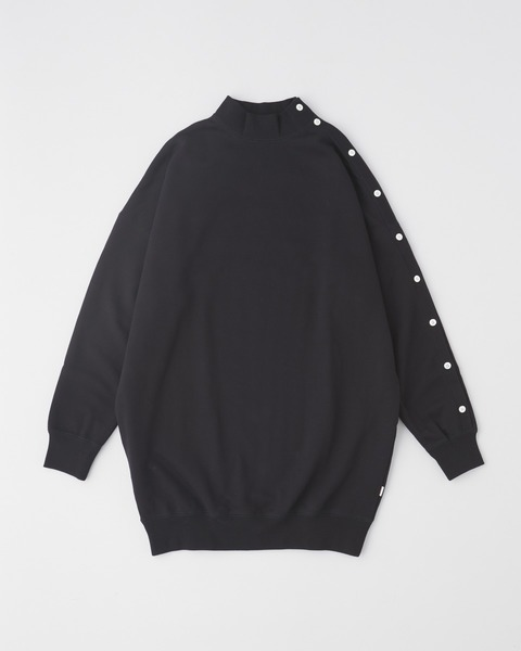 MOCK NECK PULL OVER with BELT