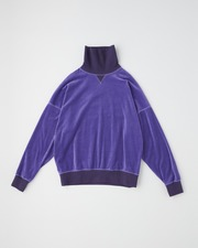 TURTLE COLLAR PULL OVER SHIRT 詳細画像 パープル 11