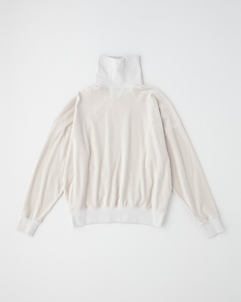 TURTLE COLLAR PULL OVER SHIRT