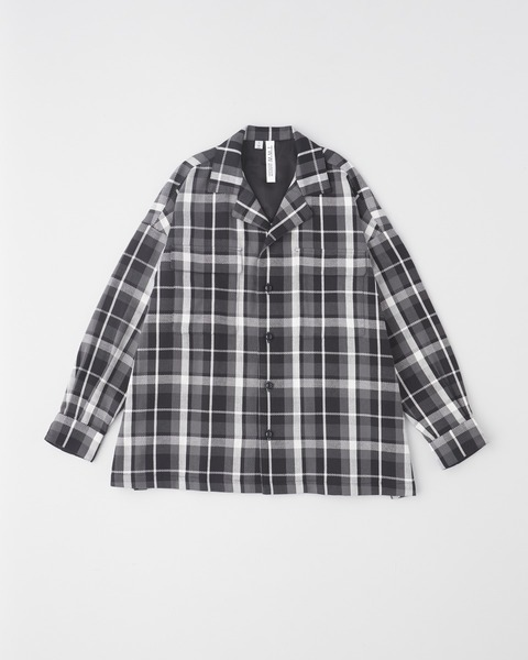 CPO SHIRT OPEN COLLAR
