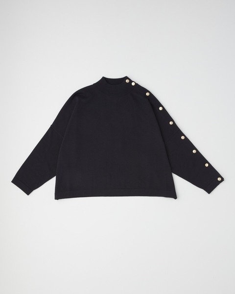 【HIGH STREET COLLECTION】BMB MOCK NECK WITH BUTTON