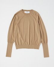 【HIGH STREET COLLECTION】BASIC CREW NECK PULL OVER 詳細画像 キャメル 1