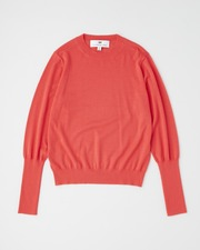 【HIGH STREET COLLECTION】BASIC CREW NECK PULL OVER 詳細画像 オレンジレッド 1