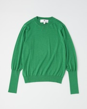 【HIGH STREET COLLECTION】BASIC CREW NECK PULL OVER 詳細画像 グリーン 1