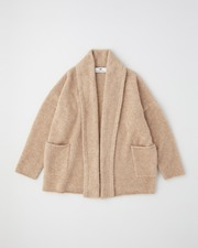 【HIGH STREET COLLECTION】GOWN CARDIGAN 詳細画像 キャメル 1