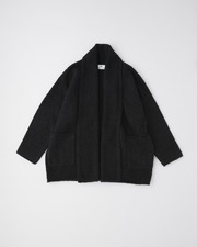 【HIGH STREET COLLECTION】GOWN CARDIGAN 詳細画像 ブラック 1
