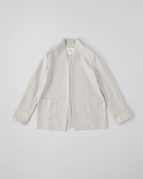【HIGH STREET COLLECTION】NO COLLAR JACKET
