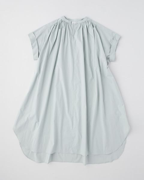 【HIGH STREET COLLECTION】GATHERED CAFTAN SHORT SLEEVE ONE-PIECE