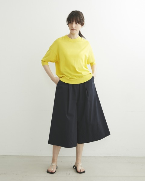 【HIGH STREET COLLECTION】WIDE CULOTE PANTS
