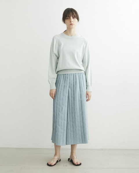 【HIGH STREET COLLECTION】SLIT CULOTTE PANTS