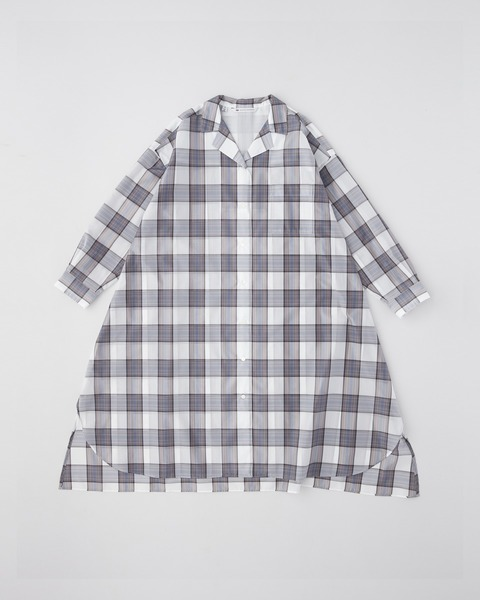 【HIGH STREET COLLECTION】OPEN COLLAR SHIRT ONE-PIECE