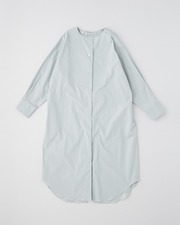 【HIGH STREET COLLECTION】BUCK CONSCIOUS LONG SHIRT 詳細画像 ライトグリーン 1