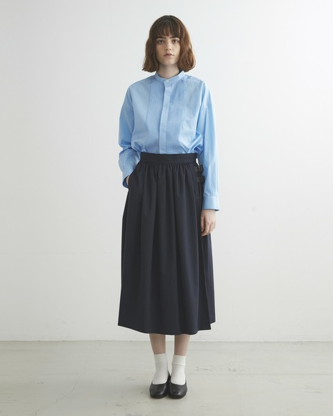 【HIGH STREET COLLECTION】GATHERED SKIRT WITH BELT